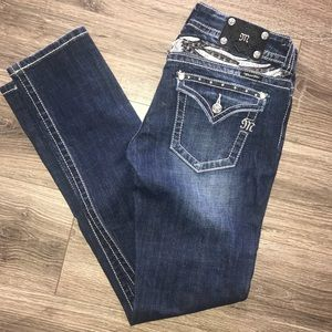 Miss Me skinny jeans size 30. Inseam 32.